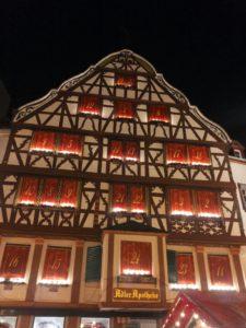 Adventskalender in Bernkastel-Kues